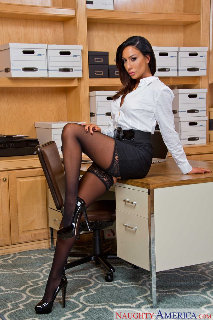 Sexy Stocking Secretary 20