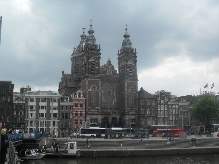 The main station of Amsterdam