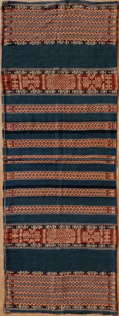 Sarong, Ikat from Savu, Savu Group, Indonesia, ca. 1950.
