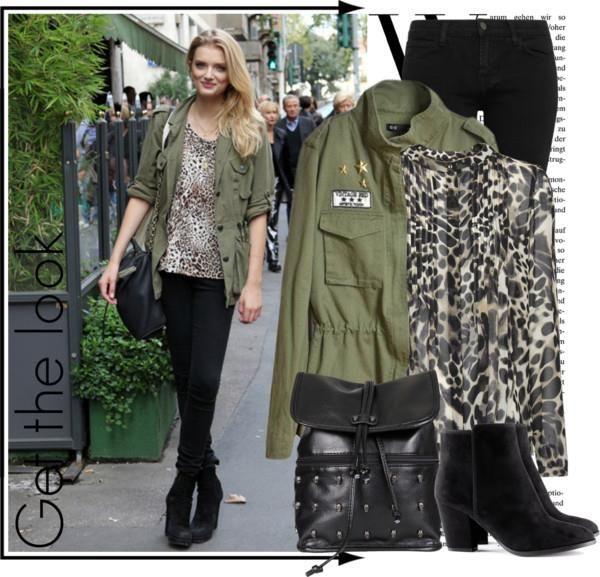 Куртка женская милитари цвет хаки