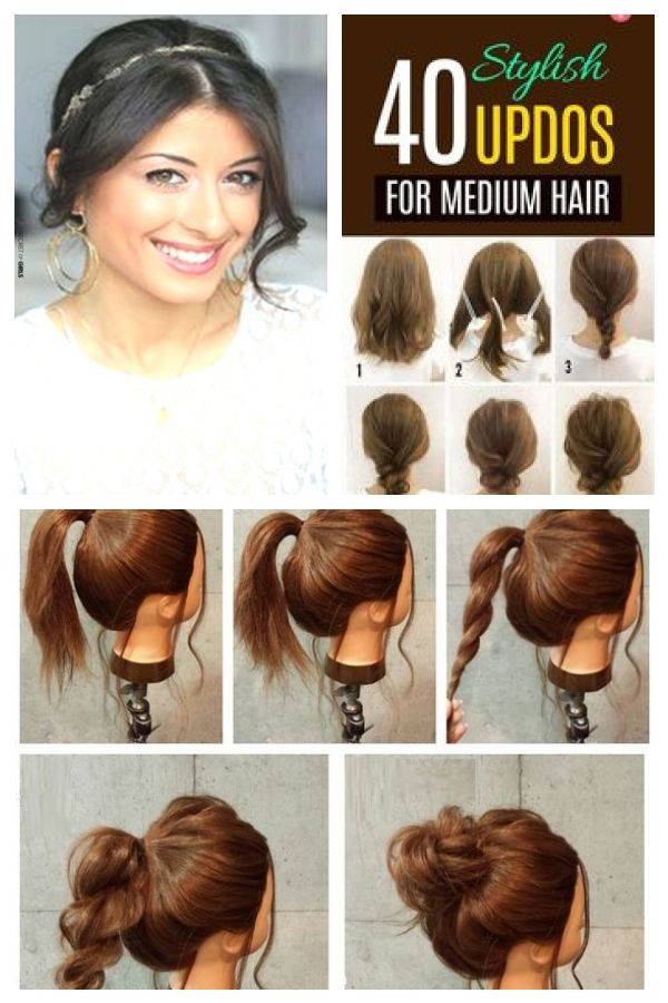 Beauty Easy Hairstyles For Going Out Hair Hairstyle Hairstyles Beauty Easy Hair Ha Easyhairstyle Going Out Hairstyles Hair Styles Prom Hair Medium