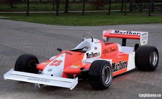 1980 Alfa Romeo Tipo 179 Formula One Monoposto