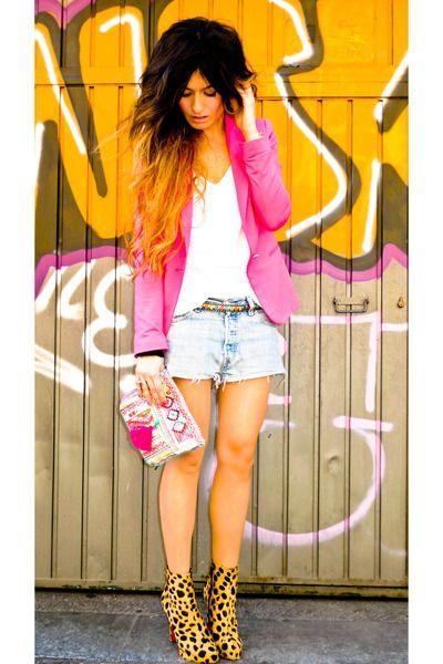 I so need a hot pink blazer!