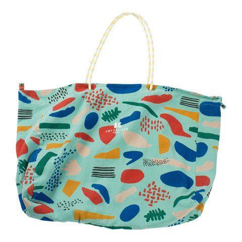 Bobo Choses Reversible Tote Bag Matisse Green One Size
