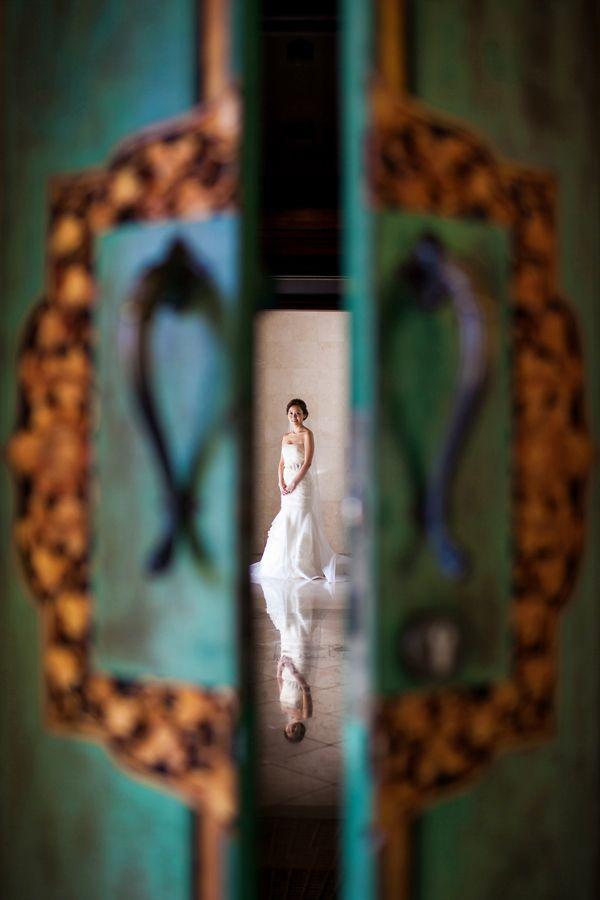 wunderschönes Hochzeitsfoto von Bali-Fotografen, Veli Yanto