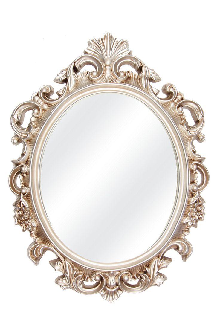 Ornate Oval Mirror, 70x94cm  Mrphome Online Shopping
