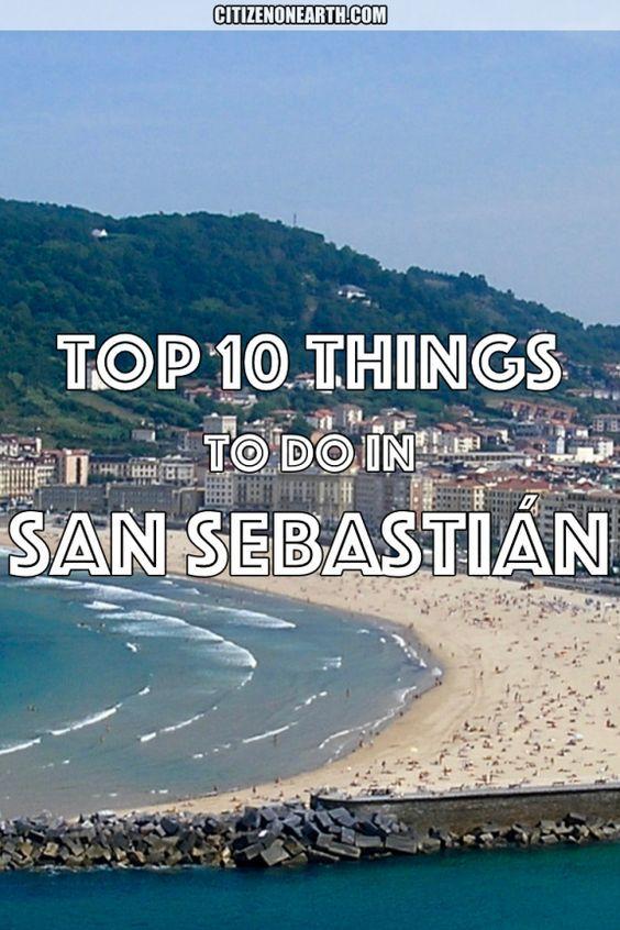 Top things to do in San Sebastian in Northern Spain!