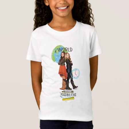 A World of Possibilities T-Shirt - click/tap to personalize and buy