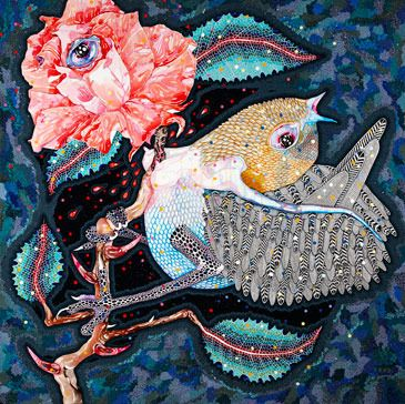 Nightingale and the Rose Del Kathryn Barton