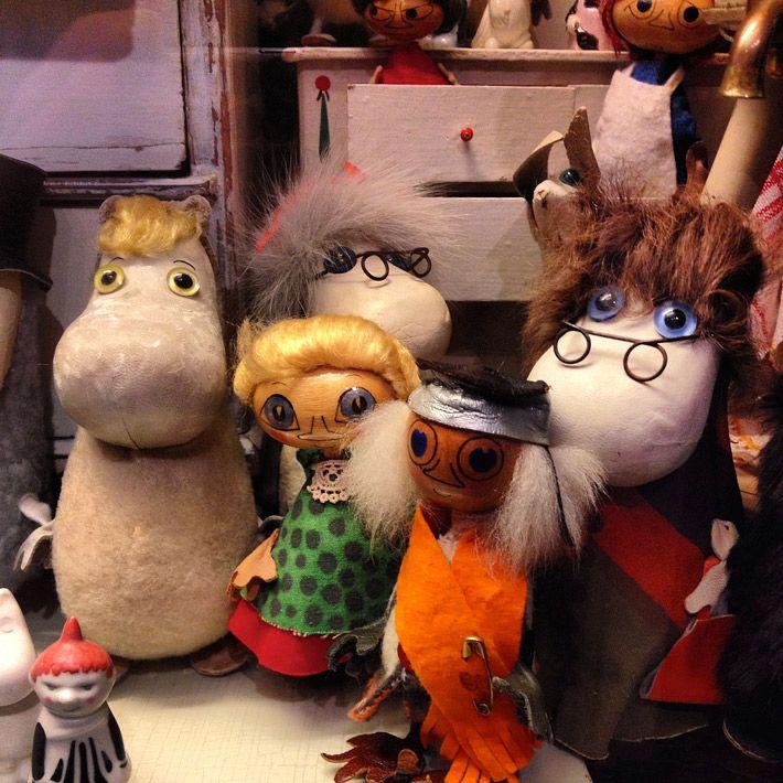 Vintage Moomin toys