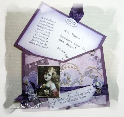 Lommekort laget av Bibbi