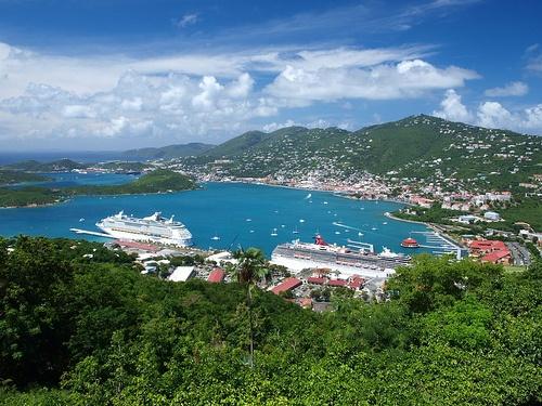 Charlotte Amalie Harbor St. Thomas USVI by philostopher, via Flickr