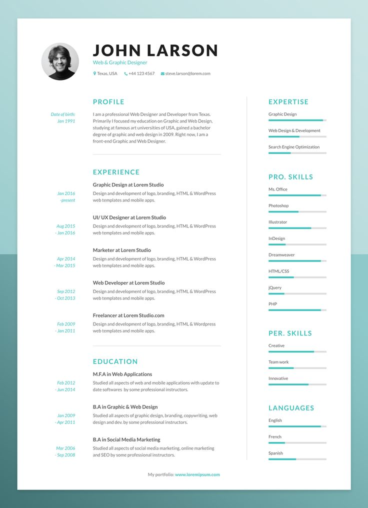 Best 25+ It cv ideas on Pinterest Create a cv, Resume ideas and - it cv template