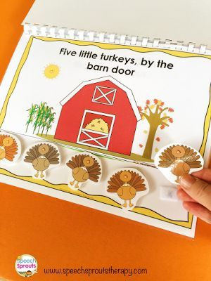 4 Great Thanksgiving Speech Therapy Activities You Won't Want to Miss!