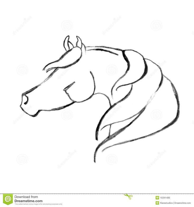 gestileerd-hand-getrokken-arabisch-paard-15341490.jpg 1.300×1.390 pixels