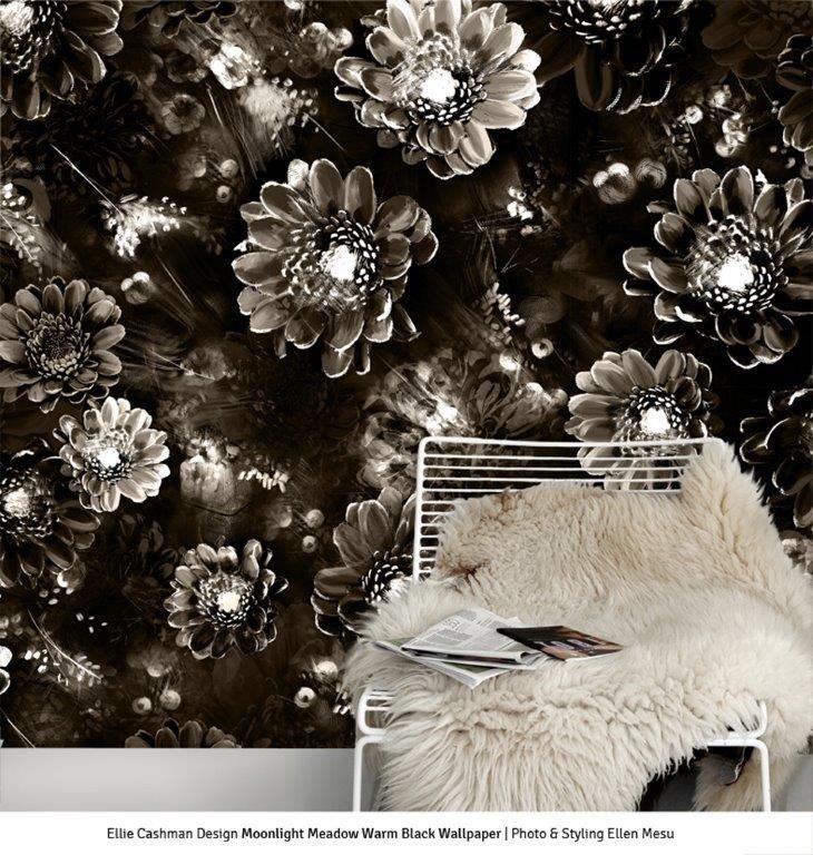 25+ Best Ideas About Black Floral Wallpaper On Pinterest