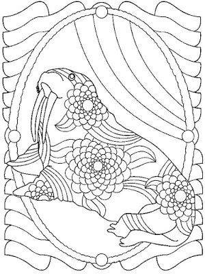 43 best Animals Coloring Pages For Adults images on Pinterest