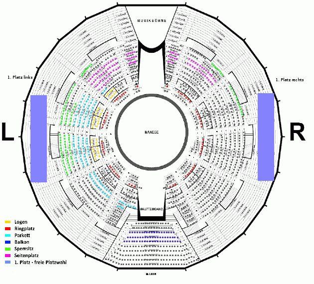 I. Winterprogramm Circus Krone, Dienstag, 27.12.2016 Circus Krone - München Ticket