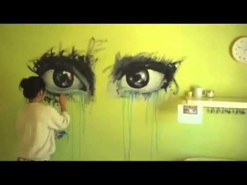 Mural Speed Painting- The Motivation Mural - YouTube