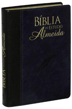 Bíblia de Estudo Almeida - Nova Edição  Sociedade Bíblica do Brasil (SBB)