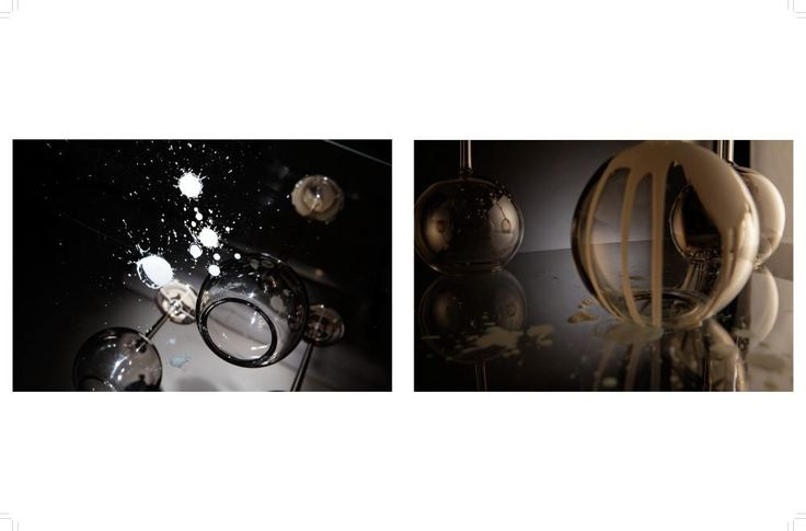 design, glass, art, Umprum, candles, candle holder
