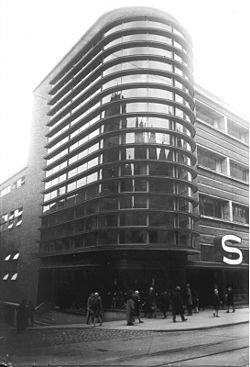 Chapter 25: Schocken Department Store in Chemnitz, Germany. Architect, Eric Mendelshon. International Style