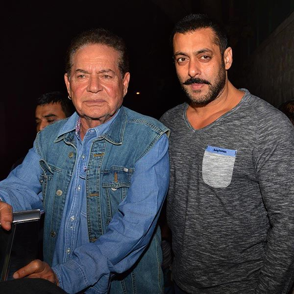 Salim Khan makes his Twitter debut and Salman Khan welcomes him with this SWEET and LOVING tweet!