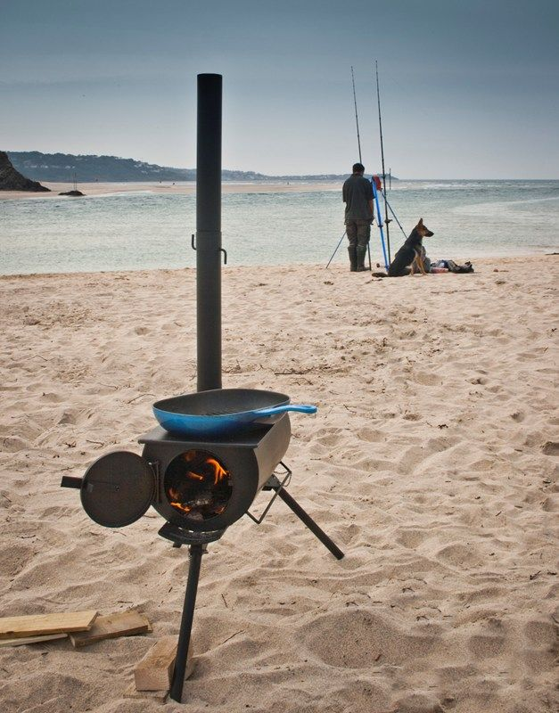 Frontier Stove Portable Wood Burner