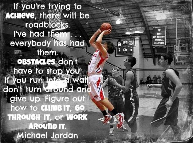 BASKETBALL.MICHAEL JORDAN QUOTE  BASKETBALL QUOTES
