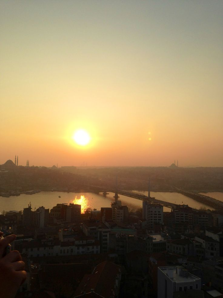 #istanbul #sunset #galatas #tower #view