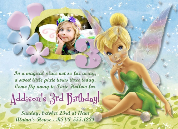 10 Best Tinkerbell Cumpleanos Images On Pinterest Birthday Party