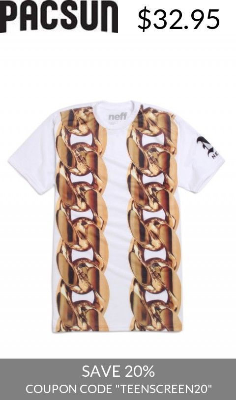 Save With Us! - Mens Neff Tee - Neff 2 Chainz T-Shirt