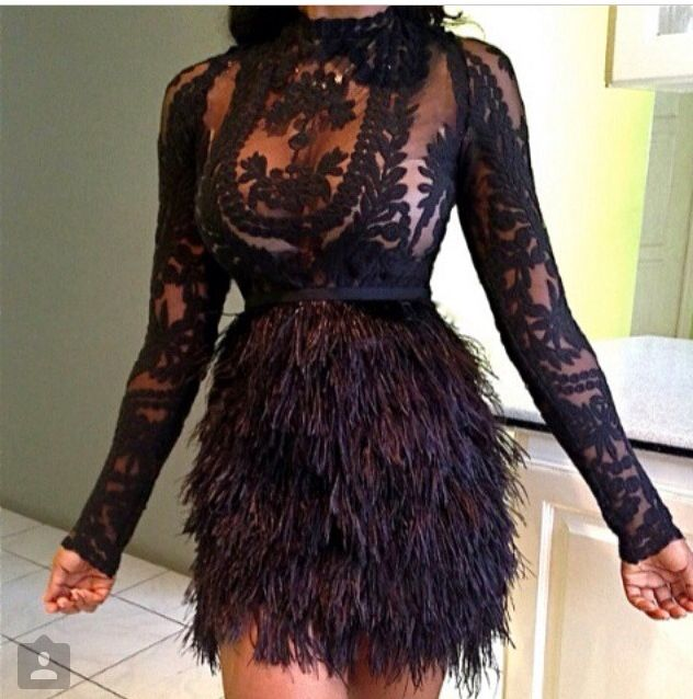 Black embroidery lace sheer tunic & full tulle ball gown dress for esty.com