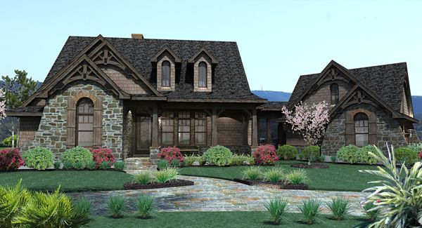 This gorgeous craftsman #houseplan is a builder's preferred choice! Click here to view additional details: http://houseplans.housingzone.com/plan/2138/