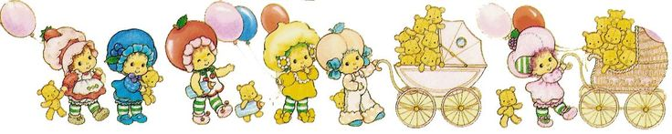 Strawberry Shortcake Clip Art - Strawberry Kids as Babies @ Toy-Addict.com