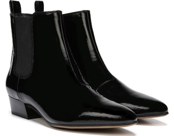 ae26eed7be2 Franco Sarto Archie 2 Bootie Black Faux Patent | Wish List | Boots ...