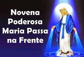 """Poderosa Novena """"Maria Passa na Frente"""" ~ NSCM"""