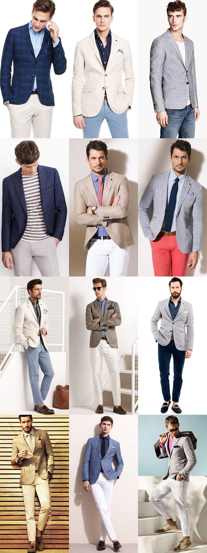 High Summer Style: The Linen Separates -The Blazer Lookbook