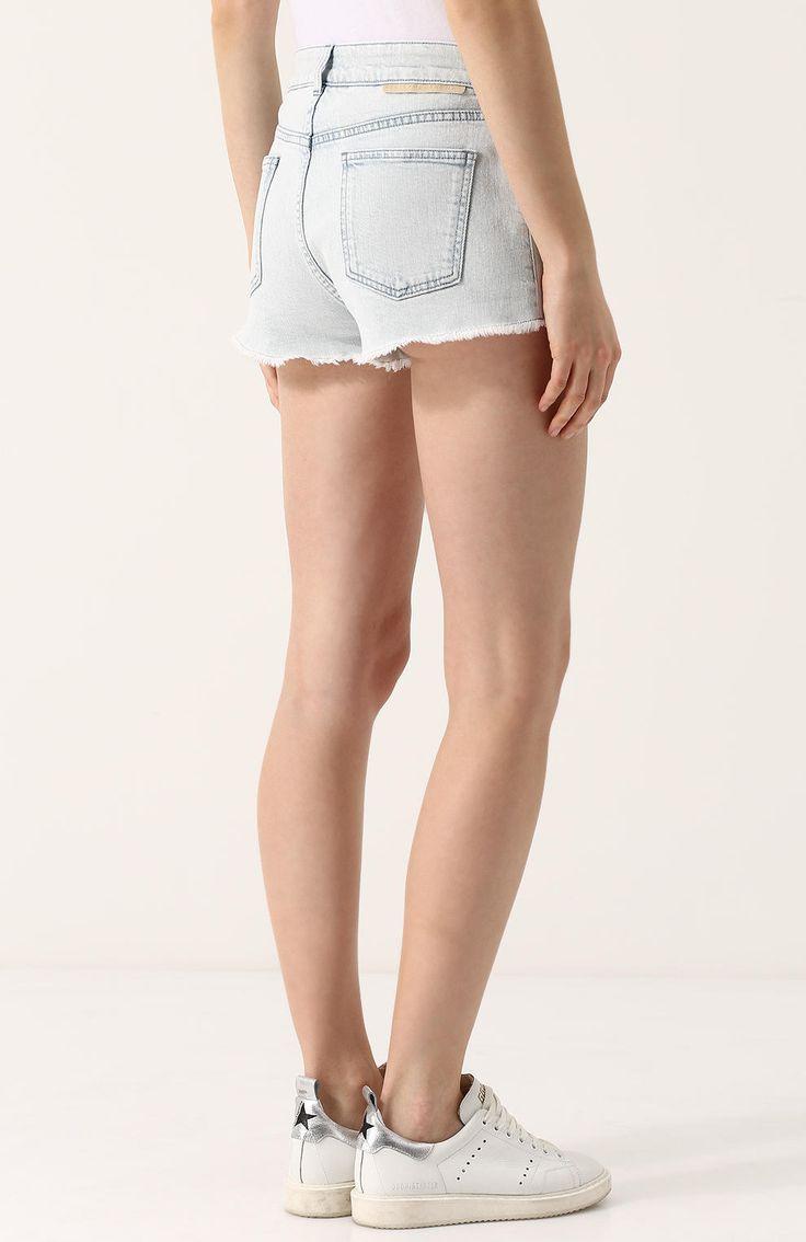 Короткие белые шортики секс