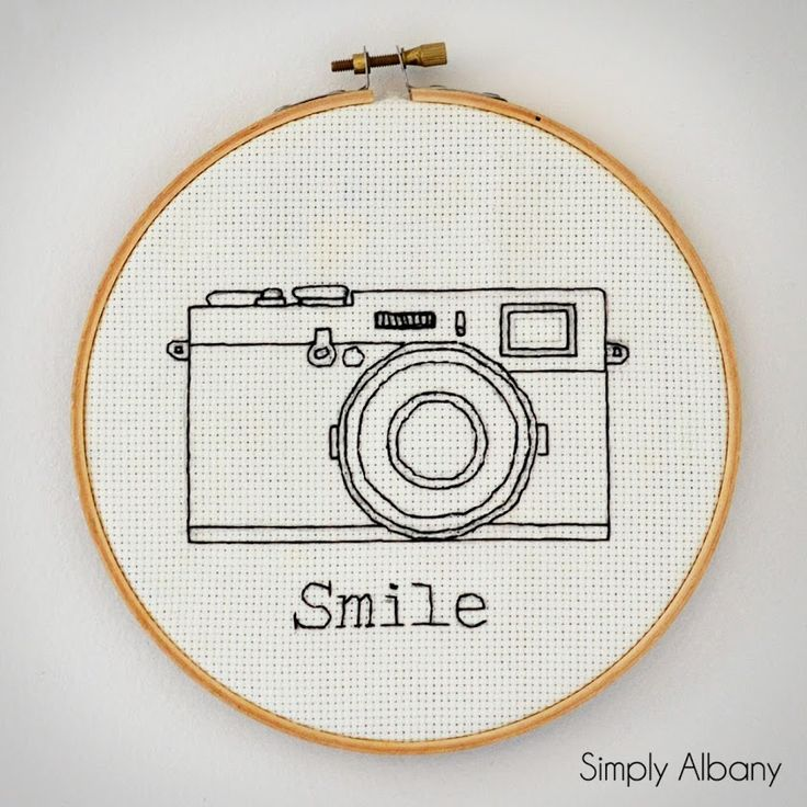 Simply Albany: Embroidery Hoop Art TSHIRT