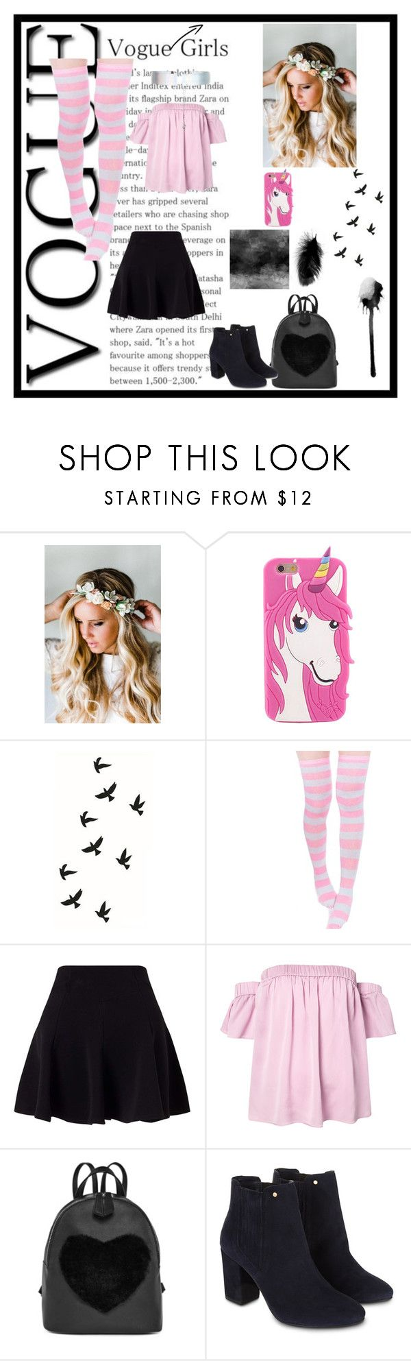 """""""Look unique and fantastic"""" by alicia-307 on Polyvore featuring mode, Emily Rose Flower Crowns, Miss Selfridge, Milly, Monsoon et Accessorize"""