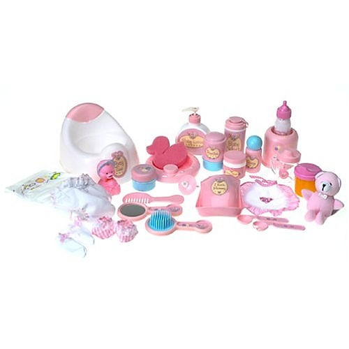 You Amp Me Baby Doll Care Accessories In Bag 80 Pieces