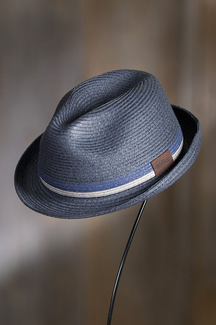 Belmar Paper Braid Fedora Hat