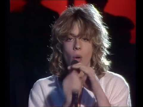 Leif Garrett - I was made for dancing 1979.. OMG!! I was hot  for him. LOL!! At the same time I was hot for Steven Tyler.