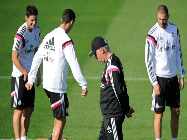 Carlo Ancelotti adelanta un poco de la alineación del Real Madrid ante el Barcelona