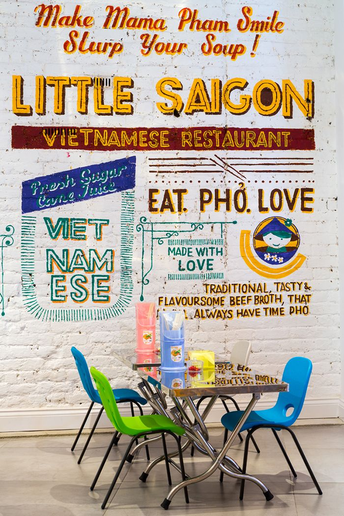 Little Saigon Restaurant E11 designed by Avocado Sweets