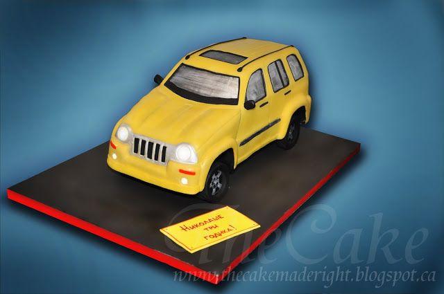 TheCake: Cake Jeep Liberty