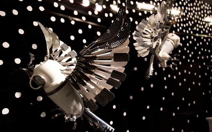 Christmas shop displays: A spoonful of festive cheer - Telegraph