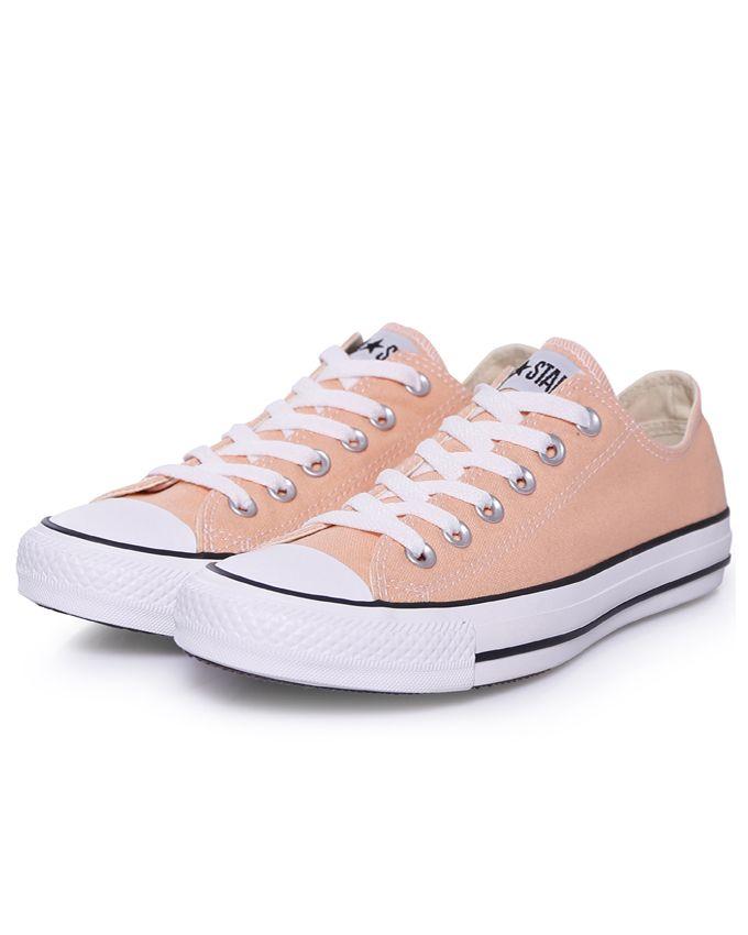 Peach colored Converse