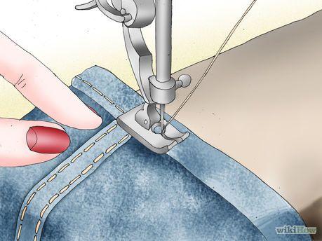 Comment transformer un jean en short